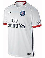 2ème équipement Paris Saint Germain 2015/2016–Maillot officiel Nike pour enfant