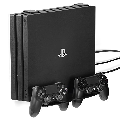 GameVspaceDuo supporto verticale 3-in-1 per PS4, Slim e Pro con ventole di raffreddamento e spazio per due controller - Amazon Videogiochi