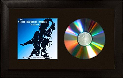 craig-frames-7x12-black-cd-display-mat-complete-w-1-wide-black-frame-cd1wb3bk-by-craig-frames-inc