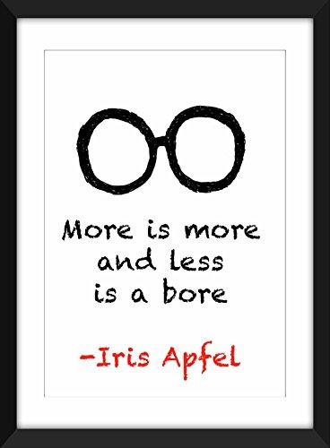 iris-apfel-mehr-ist-mehr-a3-a4-8-x-10-a5-5-x-7-druck-typografie-grafik-inspirierend-zitate
