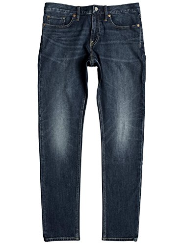 Herren Jeans Hose DC Washed Slim Jeans Medium Stone