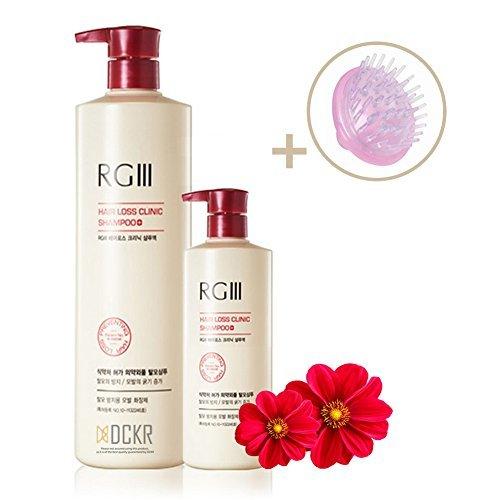 dckr Natural Klinik Shampoo RGIII-Bio rot Ginseng Zutaten für Anti Haarverlust & Regeneration-Patentierte Hair Care Shampoo RG III - Aubrey Bio-shampoo