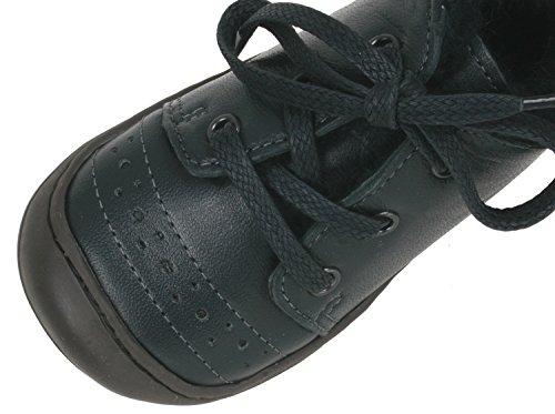 Anna und Paul 8012/53 Outdoor Schuhe Alex in Pflaume Gr. 20-25 mit warmen Lammfell gefüttert Blau (Marine)