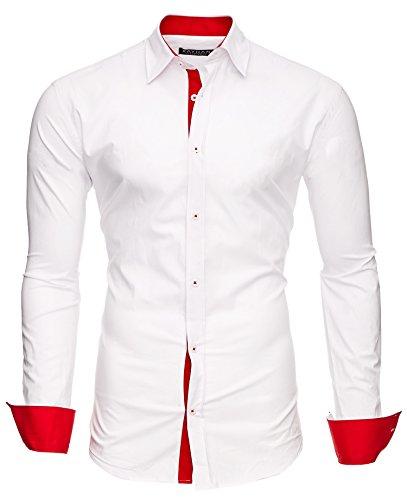 TwoFace Weiß/Ärmel Rot L ()