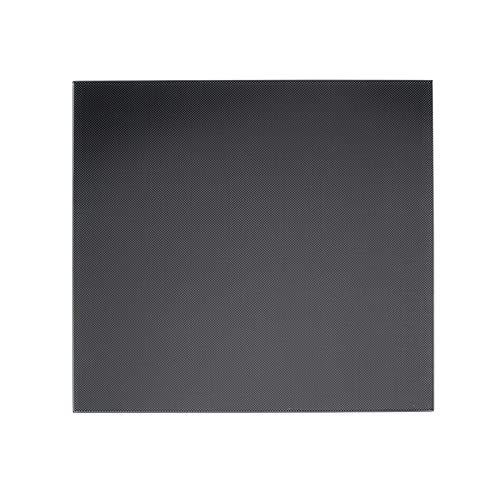Gwisdom Creality CR-10/CR-10S - Cama con calefacción y superficie de cristal templado (310 x 310 x 4 mm)