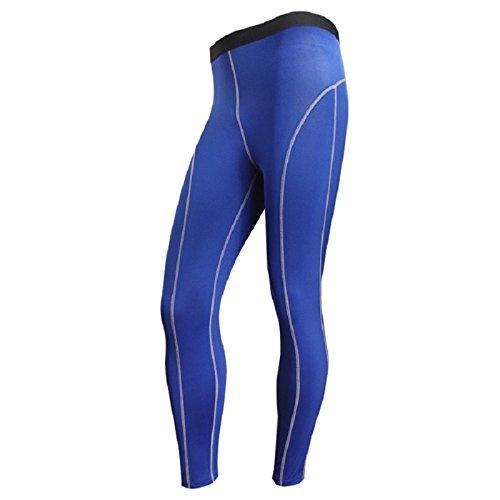 Men's Base Layer Compression Trousers blue