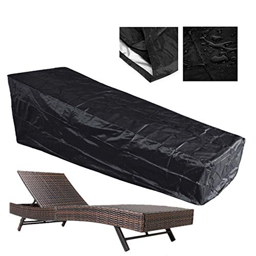 JS-YHLUSI Schutzhülle, Balkon Lounge-Sessel Staubschutz (Upgrade), Wasserdicht Polyester Anti-UV,...