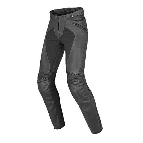 Dainese-PONY C2 LADY Pantaloni da moto in pelle, Nero, Taglia 42