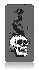 Crow On Skull Case For Coolpad Note 3