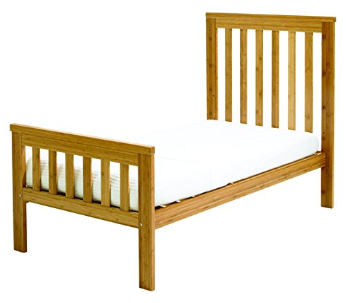 East Coast Dropside Cot Bed (Bamboo)