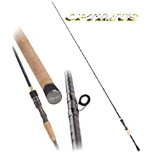 DAM Effzett Optimus Jerk H, 2,00 m, 50 – 80 g, 1 Element – Bastón Jerkbait Spinning, incl. K-don – Señuelo flexible gratuitement