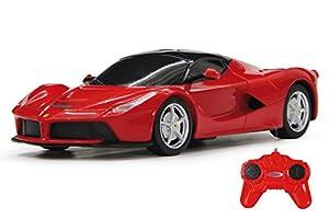 Jamara- Ferrari LaFerrari Vehículos de Control Remoto, Color Rojo (404521)