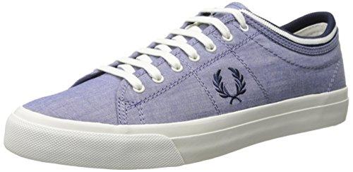 Fred Perry Tennis Homme Basses Hopman Bleu Ciel, Herren Sneaker, blau - blau - Größe: 44 EU -