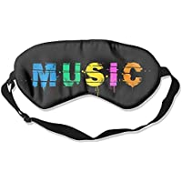 Comfortable Sleep Eyes Masks Music Pattern Sleeping Mask For Travelling, Night Noon Nap, Mediation Or Yoga preisvergleich bei billige-tabletten.eu