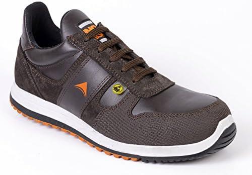 No Risk Biker Zapatos de seguridad S3 Src, color marrón