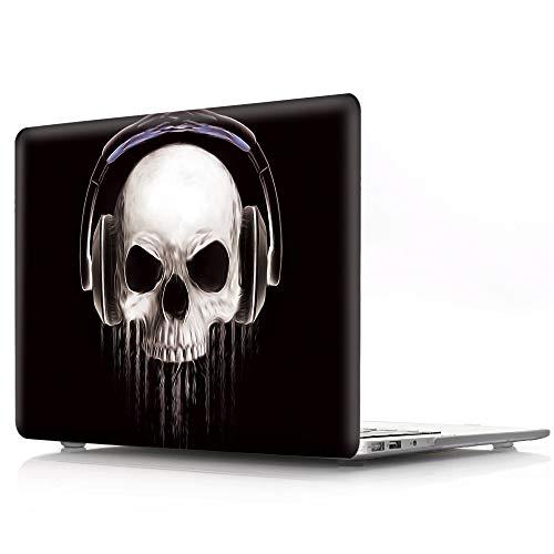 L2W MacBook Air 13,3 Zoll Hülle Laptop Zubehör Plastik Halloween Muster Schutzhülle Cover Tasche Für Apple MacBook Air 13
