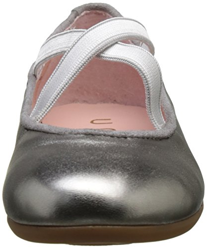 Unisa Conno_Lmt, Ballerines Fille Argent (Steel)
