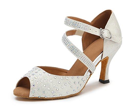 TDA , Sandales Compensées femme 7.5cm White