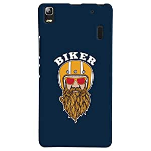 ColourCrust Lenovo K3 Note / A7000 Turbo Mobile Phone Back Cover With Riders Style - Durable Matte Finish Hard Plastic Slim Case