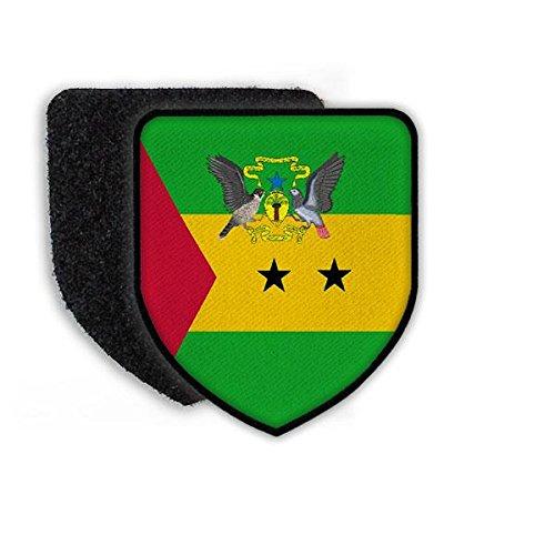 Patch Patch Landeswappenpatch Sao Tome Wappen Wappentier Tauben Flagge Fahne Aufnäher Abzeichen #21964 - Taube Wappen