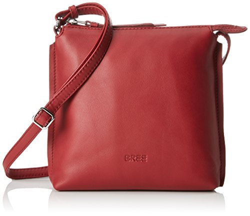 BREE Damen Toulouse 1 Schultertasche, Rot (Brick Red), 4.0x20.0x19.0 cm