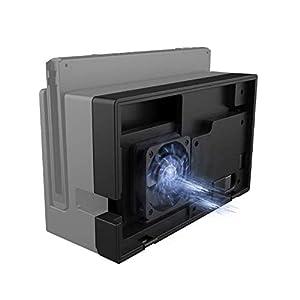 PeakLead Switch Dock Kühler, ElecGear Externer Wärmeableitungs Ständer mit Lüfter Ventilator für Nintendo Switch Dock…