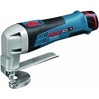 Bosch GSC 10.8 V-LI - Cortador de metal (10.8 V, Litio-Ion, 256 mm, 131 mm, 1400 g) Negro, Azul