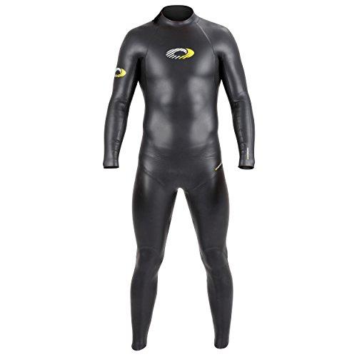 Osprey Herren Jacke Nylon Full Länge Triathlon Neoprenanzug S schwarz