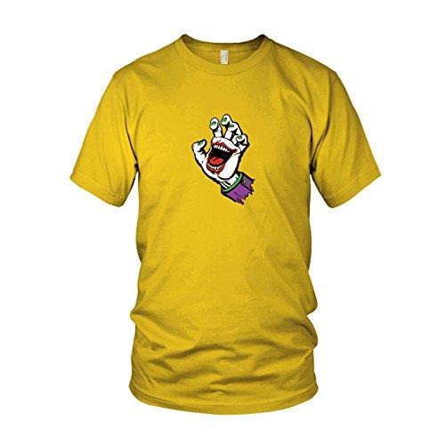 Joking Hand - Herren T-Shirt, Größe: XXL, Farbe: gelb