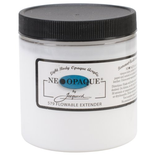 Jacquard Produkte Jacquard Neopaque Flowable Extender, 8oz (Fabric Extender)
