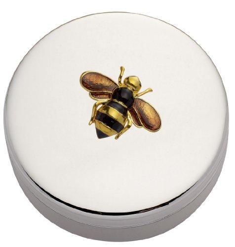 Jodie Rose Boîte à bijoux ronde Motif abeille