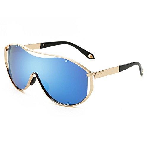 XYLUCKY Männer Sonnenbrillen Polarisierte Brillen Sport Eyewear Angeln Golf Goggles , blue
