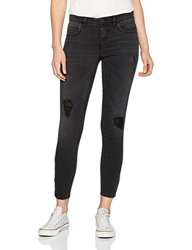 ONLY Damen Slim Jeans 15138624, Schwarz (Black), W33/L32 (Jeans Schwarze Elastische)
