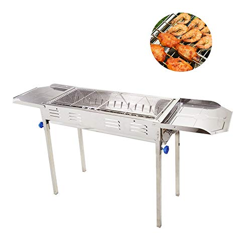 LiRongPing BBQ, Tragbarer Holzkohlegrill, 5-15 Personen, Grill Im Freien, Camping