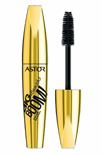 Astor Big & Beautiful Boom! Mascara, 800 Black (schwarz), Volumen, 1er Pack (1 x 12 ml)
