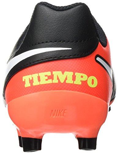 Nike Jungen 819186-018 Fußballschuhe Schwarz (Black/White/Hyper Orange/Volt)