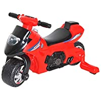HOMCOM Toddler Kids Ride On Car Balance Bike Cycle Motorcycle Motorbike Toy Boy Girl Push Along Walker