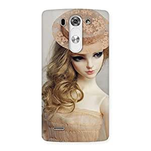 Cute Royal Doll Multicolor Back Case Cover for LG G3 Beat