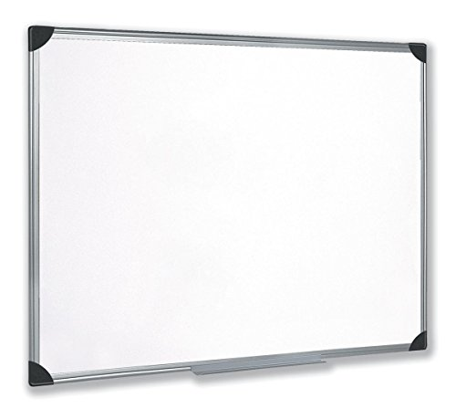 5 Star Easy Office Supplies (W900xH600mm) Whiteboard Drywipe Magnetic with Pen Tray and Aluminium Trim