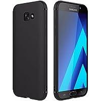 EasyAcc Custodia per Samsung Galaxy A5 2017, Morbido TPU Cover Slim Anti Scivolo Protezione Posteriore Case Antiurto E' Adatto per Samsung Galaxy A5 2017 / A520 - Nero