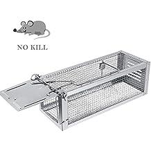 RatzFatz Trampa de Ratones Profesional, Jaula de Alto Grado Para Atrapar Ratones, Ratas y