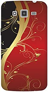 The Racoon Grip Red Haze hard plastic printed back case / cover for Samsung Galaxy Grand