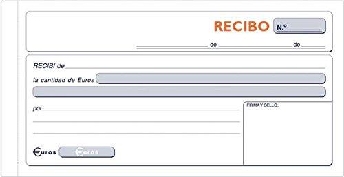 Loan libro t60ricevuta fiscale (spagnolo), 10pezzi