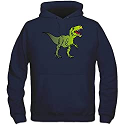 Sudadera con capucha T Rex Dinosaur by Shirtcity