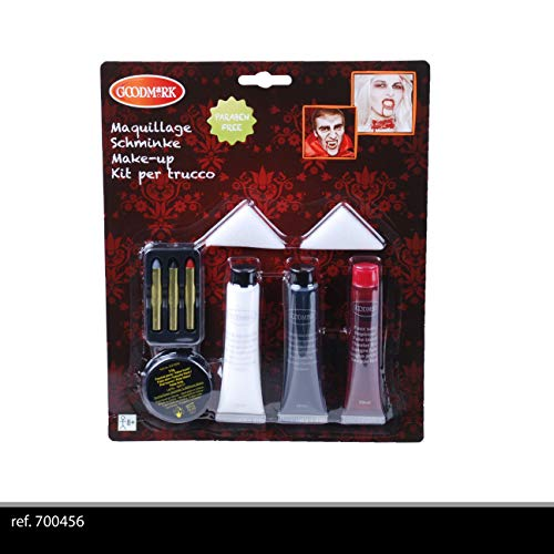 Goodmark – Kit maquillaje vampiro adulto, 700456