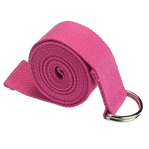 Bodhi2000 ® 180 cm Yoga Sangle stretch Ceinture pour tour de taille jambe Fitness Training, rose