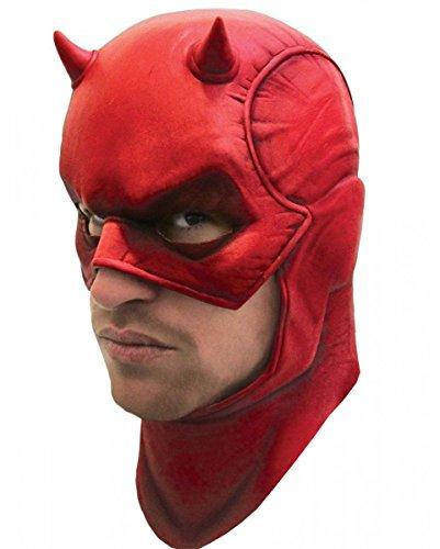 e rot für Fasching & Halloween (Daredevil-maske)