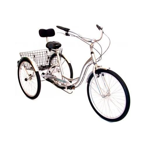 "413Lqelus2L. SS500  - AMMACO FREE AND EASY 26"" WHEEL ALLOY 3 WHEEL ADULT TRICYCLE,CARGO TRIKE ,DISABILITY ,LIGHT & LARGEST WHEEL POSSIBLE - NOW BACK IN STOCK- SAVE £250 OFF THE RRP!"