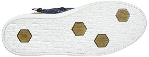 Bullboxer Ahm500e5l, Sneakers basses garçon Blau (darkblue/camel)