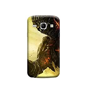 Ebby Premium Printed Back Case Cover With Full protection For Samsung Galaxy Core I8262 (Designer Case)